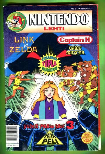 Nintendo-lehti 6-7/91