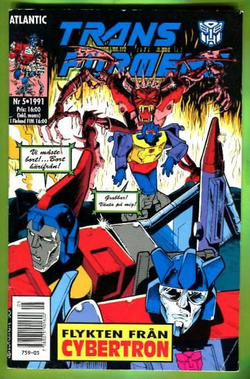 Transformers 5/91 (ruotsinkielinen)