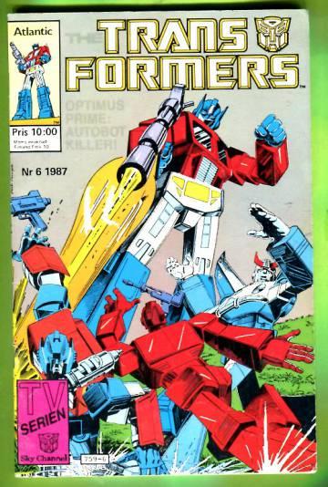 Transformers 6/87 (ruotsinkielinen)