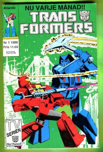 Transformers 1/88 (ruotsinkielinen)
