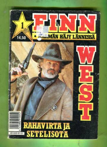 Finnwest 1/91 - Rahavirta ja setelisota