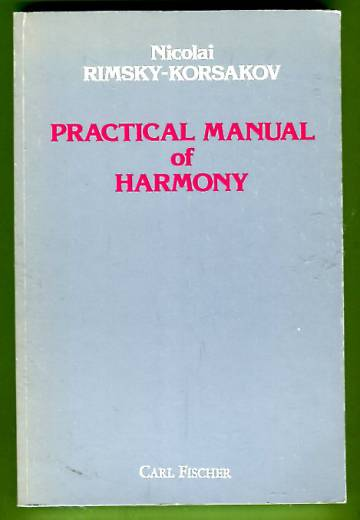 Practical Manual of Harmony