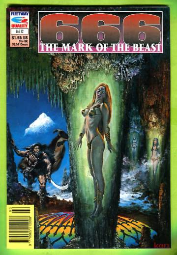 666 - The Mark of the Beast #12 1992