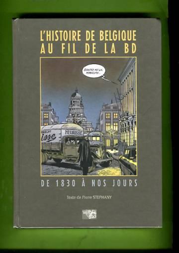 L'histoire de Belgique au fil de la BD - De 1830 à nos jours