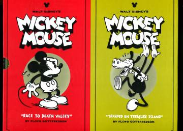 Mickey Mouse: Race to Death Valley & Trapped on Treasure Island + säilytyskotelo