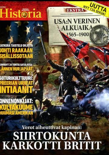 Tieteen Kuvalehti Historia -ekstra - USA:n verinen alkuaika