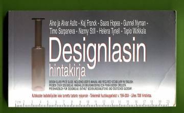 Designlasin hintakirja