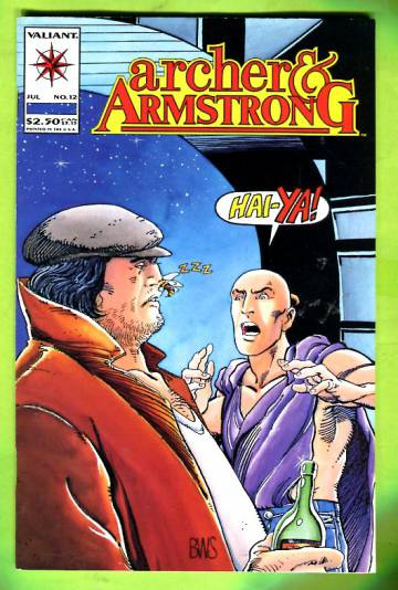 Archer & Armstrong Vol 1 #12 Jul 93