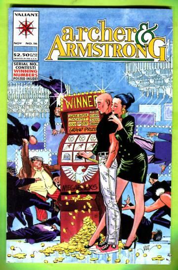 Archer & Armstrong Vol 1 #16 Nov 93
