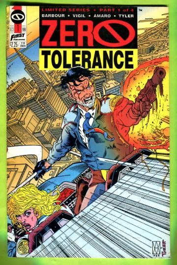 Zero Tolerance Vol. 1 #1 Oct 90