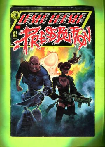 Laser Eraser & Pressbutton #1 Nov 85