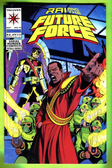 RAI and the Future Force Vol. 1 #13 Sep 93