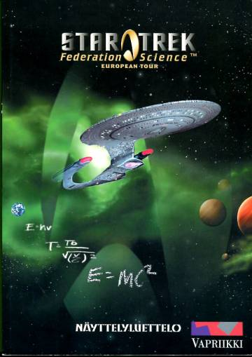 Star Trek - Federation Science European Tour: Näyttelyluettelo