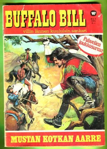 Buffalo Bill 5/74 - Mustan kotkan aarre