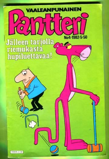 Vaaleanpunainen Pantteri 4/82