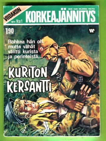 Viidakon Korkeajännitys 1/74 - Kuriton kersantti