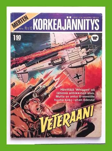 Merten Korkeajännitys 12/73 - Veteraani