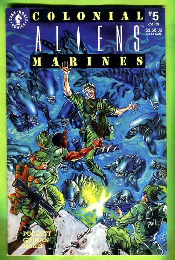 Aliens: Colonial Marines #5 May 93