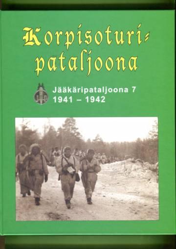Korpisoturipataljoona - Jääkäripataljoona 7 1941-1942