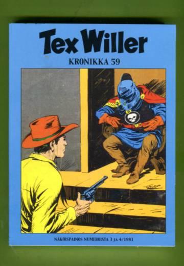 Tex Willer -kronikka 59 - Rautanaamio & Ryöstömurhaajat