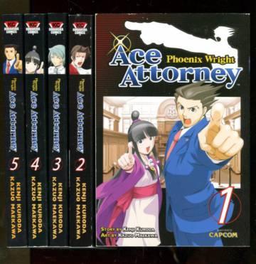 Phoenix Wright: Ace Attorney Vol. 1-5 (whole series)