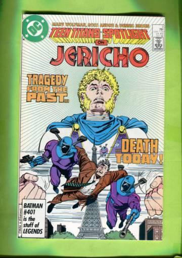 Teen Titans Spotlight #3 Oct 86