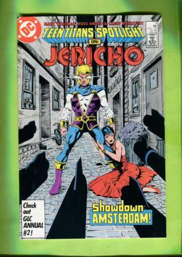 Teen Titans Spotlight #4 Nov 86