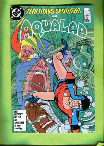 Teen Titans Spotlight #10 May 87