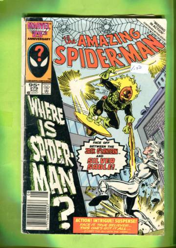 Amazing Spider-Man Vol. 1 #279 Aug 86