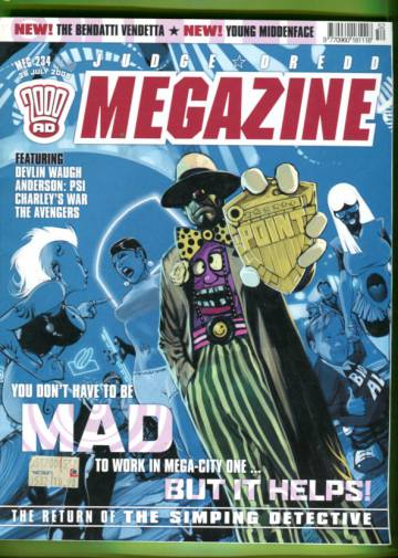 Judge Dredd Megazine #234 Jul 05