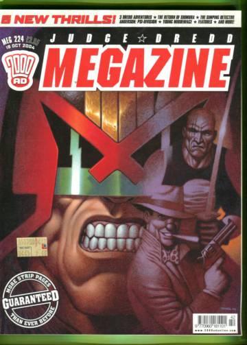 Judge Dredd Megazine #224 Oct 04
