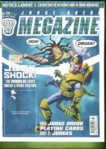 Judge Dredd Megazine #229 Mar 05