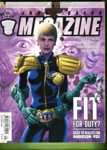 Judge Dredd Megazine #227 Jan 05