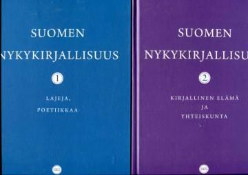 Suomen nykykirjallisuus 1-2 - Lajeja, poetiikkaa & Kirjallinen elämä ja yhteiskunta
