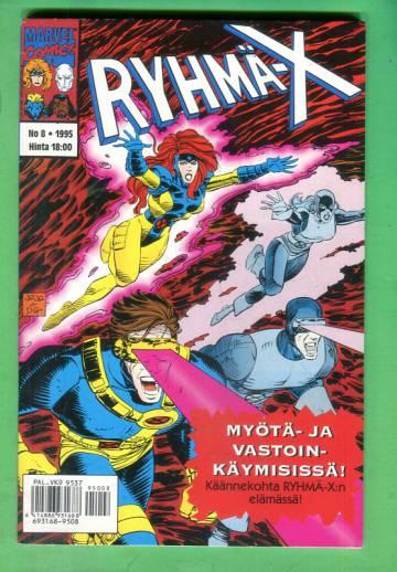 Ryhmä-X 8/95 (X-Men)