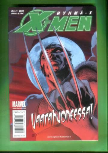 X-Men 4/06 (Ryhmä-X)