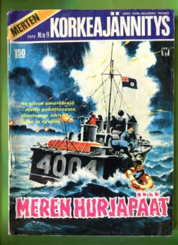 Merten korkeajännitys 9/72 - Meren hurjapäät