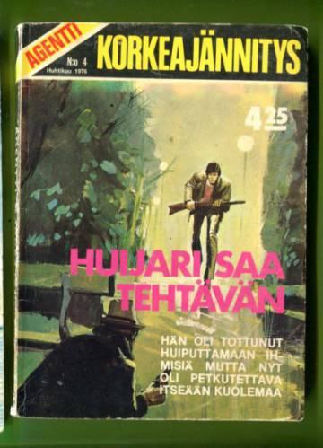 Agentti korkeajännitys 4/76 - Huijari saa tehtävän