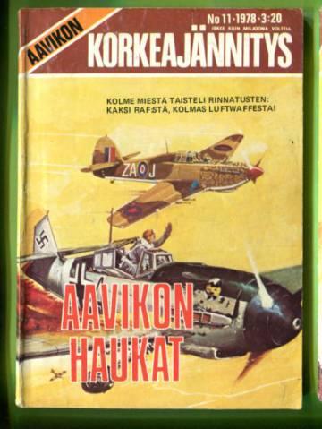 Aavikon Korkeajännitys 11/78 - Aavikon haukat