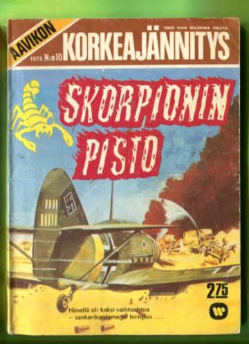 Aavikon Korkeajännitys 10/75 - Skorpionin pisto