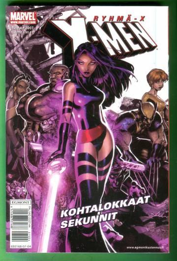 X-Men 4/07 (Ryhmä-X)