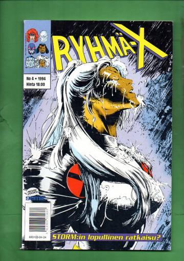 Ryhmä-X 4/94 (X-Men)