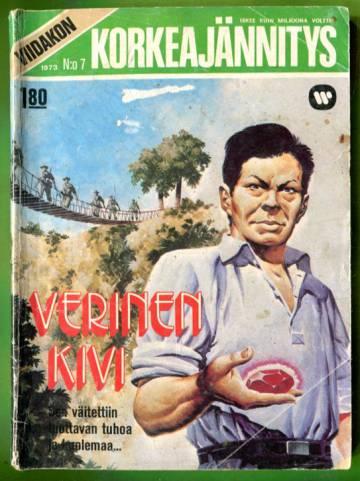 Viidakon Korkeajännitys 7/73 - Verinen kivi