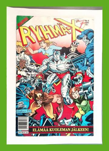 Ryhmä-X 4/91 (X-Men)