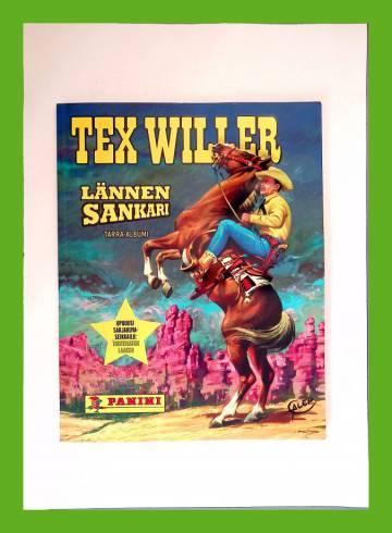 Tex Willer Lännen sankari -tarra-albumi