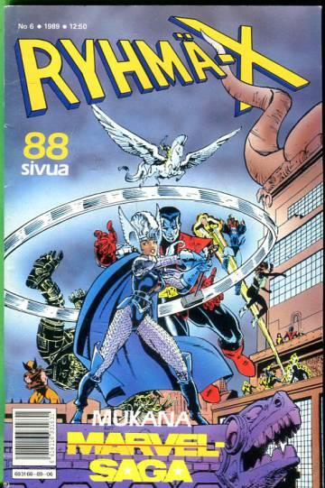 Ryhmä-X 6/89 (X-Men)