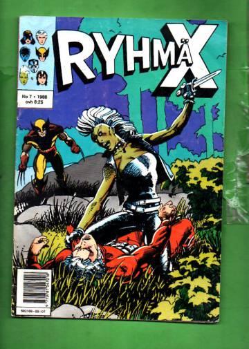 Ryhmä-X 7/88 (X-Men)