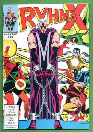Ryhmä-X 7/87 (X-Men)