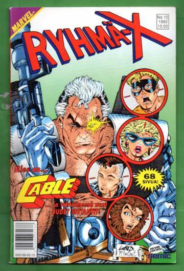 Ryhmä-X 10/92 (X-Men)