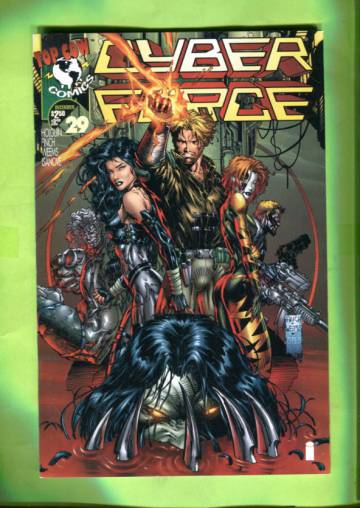 Cyberforce Vol 2 #29 Dec 96